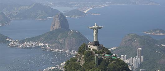 A mais visitada da América do Sul!