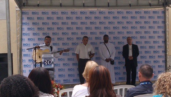 Instituto comemora 30 anos com um dia de eventos para servidores no pátio do CASS