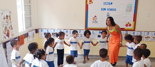 Matrículas abertas para as turmas de pré-escola