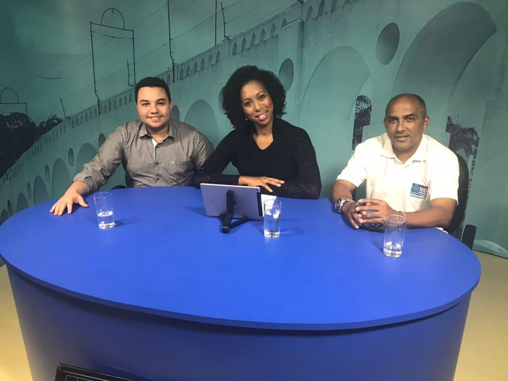 População tira dúvidas sobre o Rio em Ação no Papo Carioca