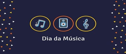 Banner Dia da música