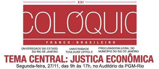 PGM promove Colóquio franco-brasileiro