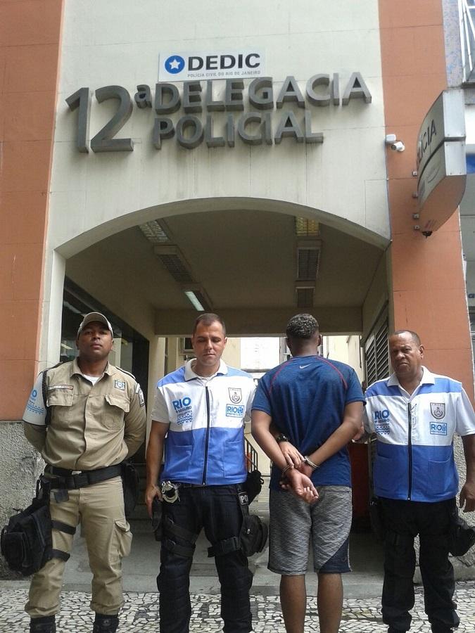 Rio+Seguro realiza primeira prisão em Copacabana