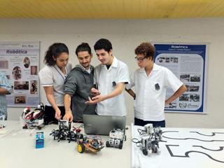 Planetário recebe cerca de 200 alunos durante a XVIII Jornada Jovens Talentos