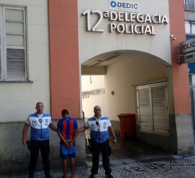 Foragido da justiça é detido por equipe do Rio+Seguro em Copacabana