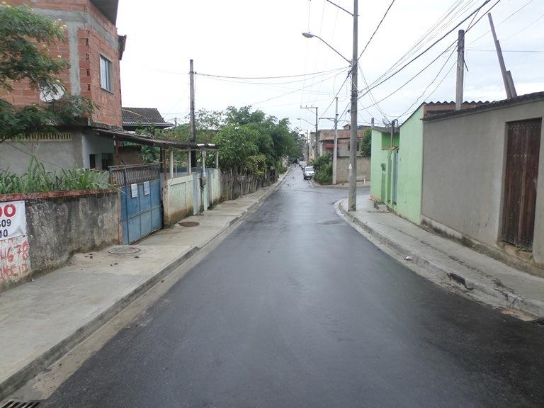 Rio-Águas entrega ruas requalificadas no Jardim Magarça em Guaratiba