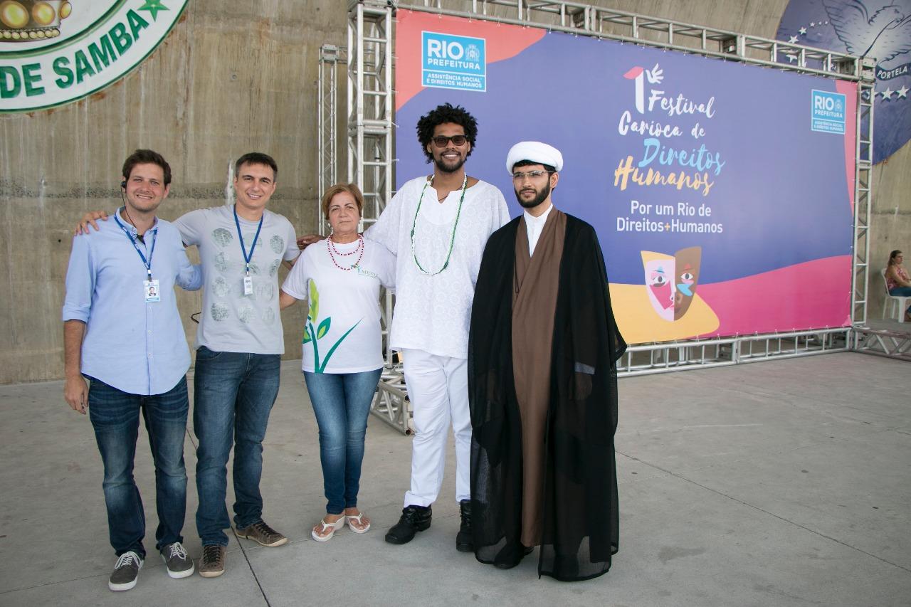 Parque Madureira sedia 1º Festival Carioca de Direitos Humanos