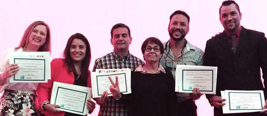 Entrega de Certificado à nova turma de Líderes Cariocas