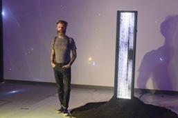 Artista plástico Marc Kraus realiza instalação multimídia na Cidade das Artes
