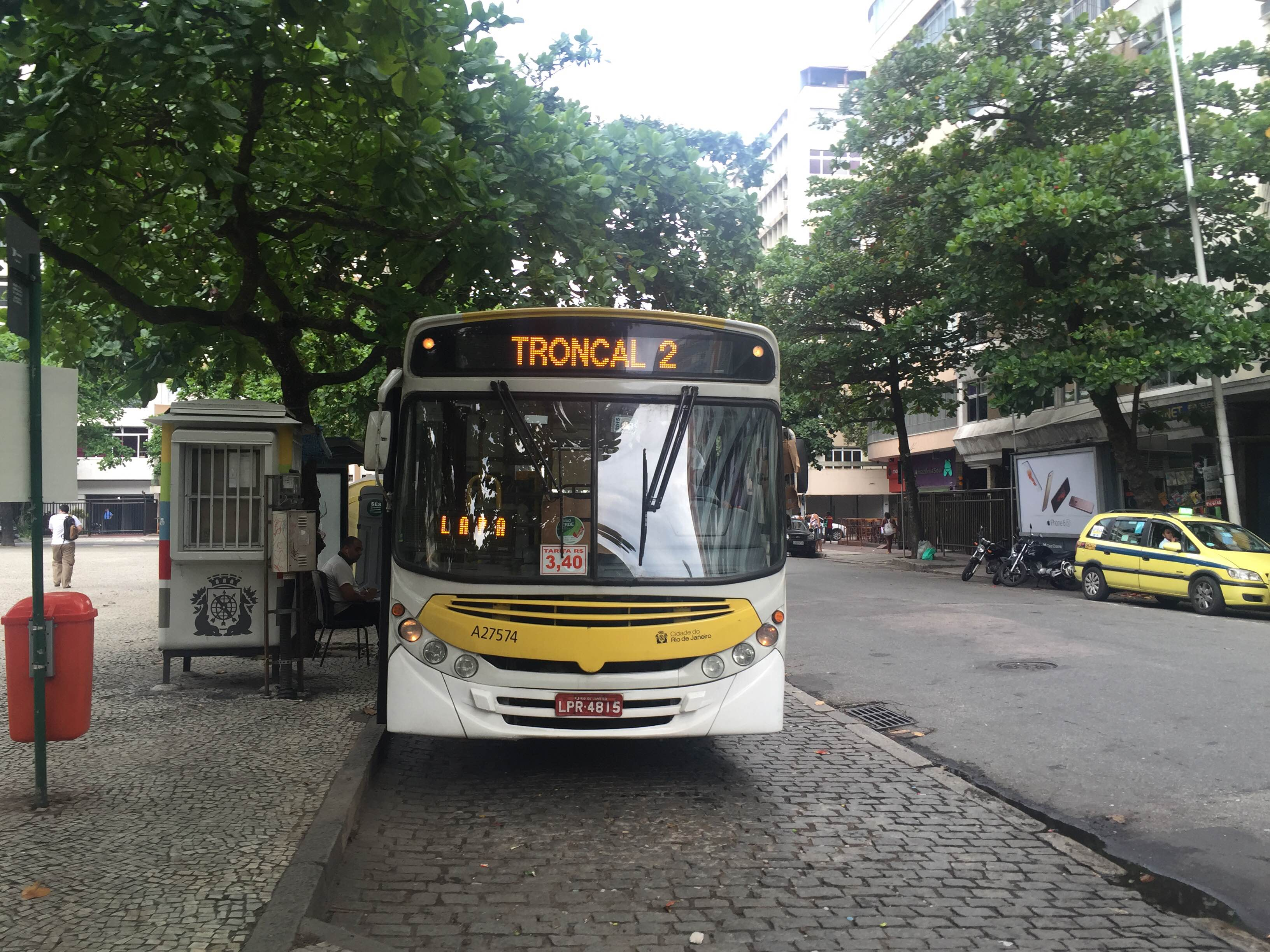 Tarifa modal do Bilhete Único Carioca nos ônibus passa a R$ 3,40 no dia 5