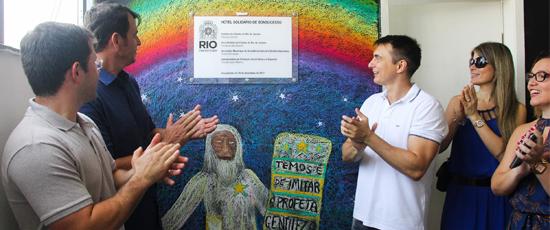 SMASDH inaugura abrigo em Bonsucesso