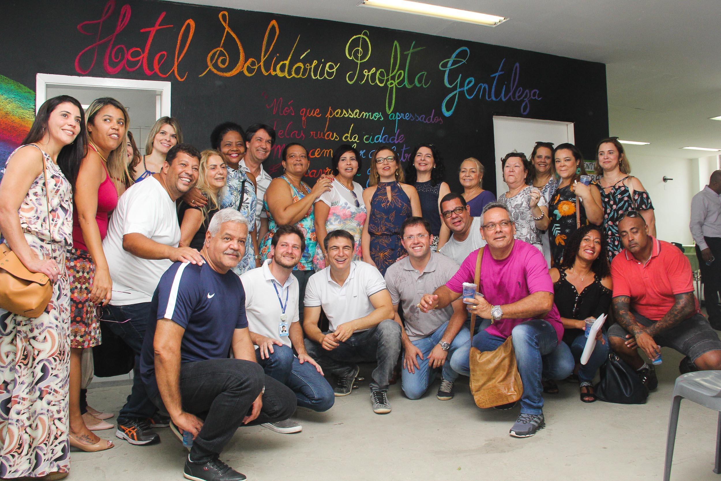 Resultado de imagen para Hotel Solidario Profeta Gentileza