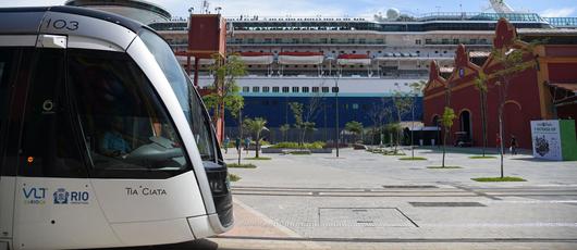 Obras da Linha 3 do VLT alteram o trânsito no Centro
