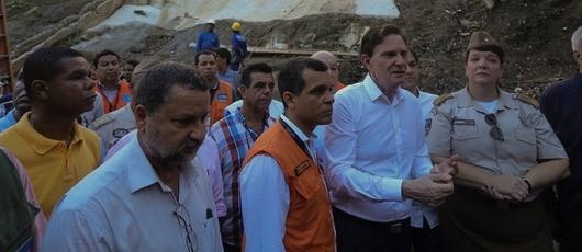 Prefeitura realiza mutirão de serviços na Comunidade da Mangueira