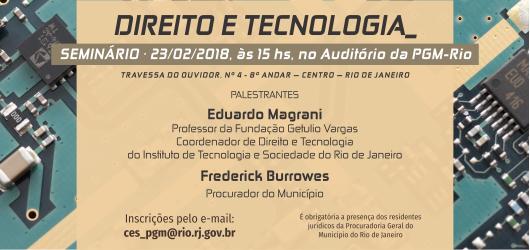 PGM promove seminário Direito e Tecnologia