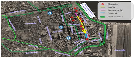 Prefeitura monta esquema especial para os blocos deste fim de semana