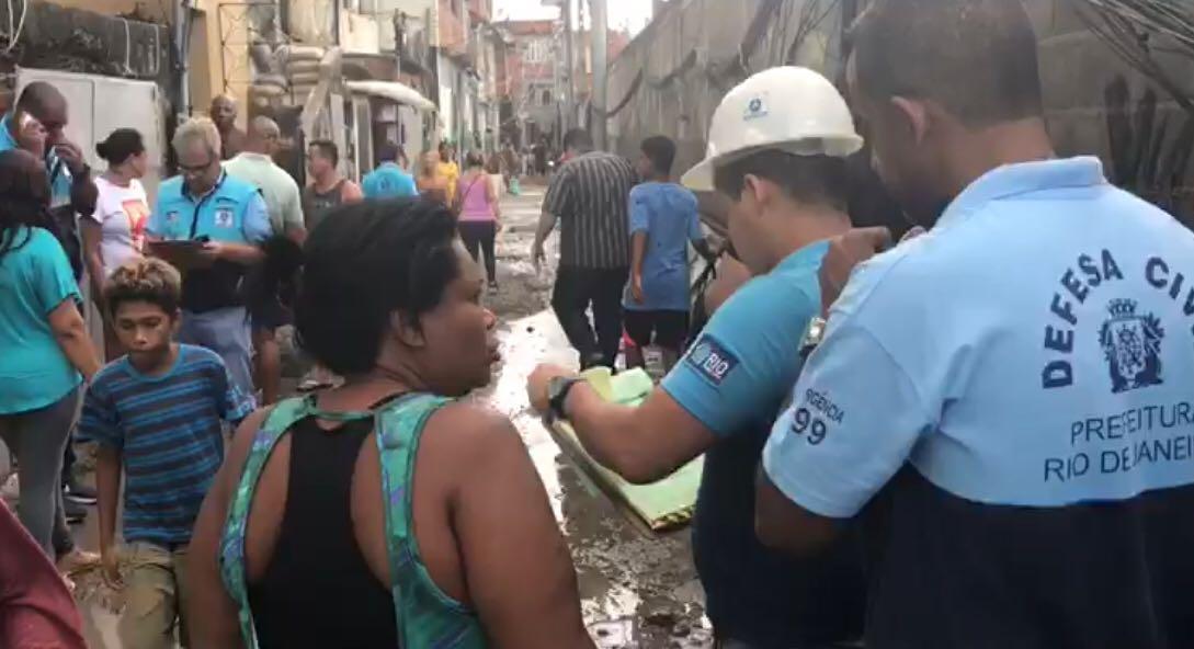 Defesa Civil municipal registra 1.266 chamados desde a última quarta-feira