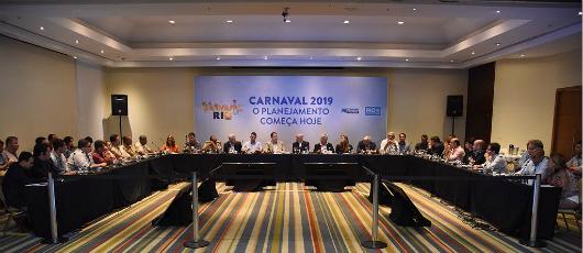 Órgãos públicos e parceiros discutem melhorias para o Carnaval 2019