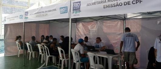De volta em março, Rio em Ação fez mais de 38 mil atendimentos em 2017