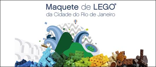 Maquete de LEGO® do Rio de Janeiro I Exposição Permanente