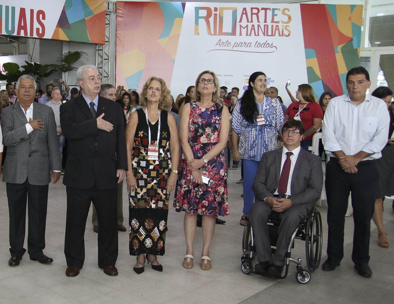 Prefeitura promove oficinas e divulgação de serviços na 12ª Rio Artes Manuais