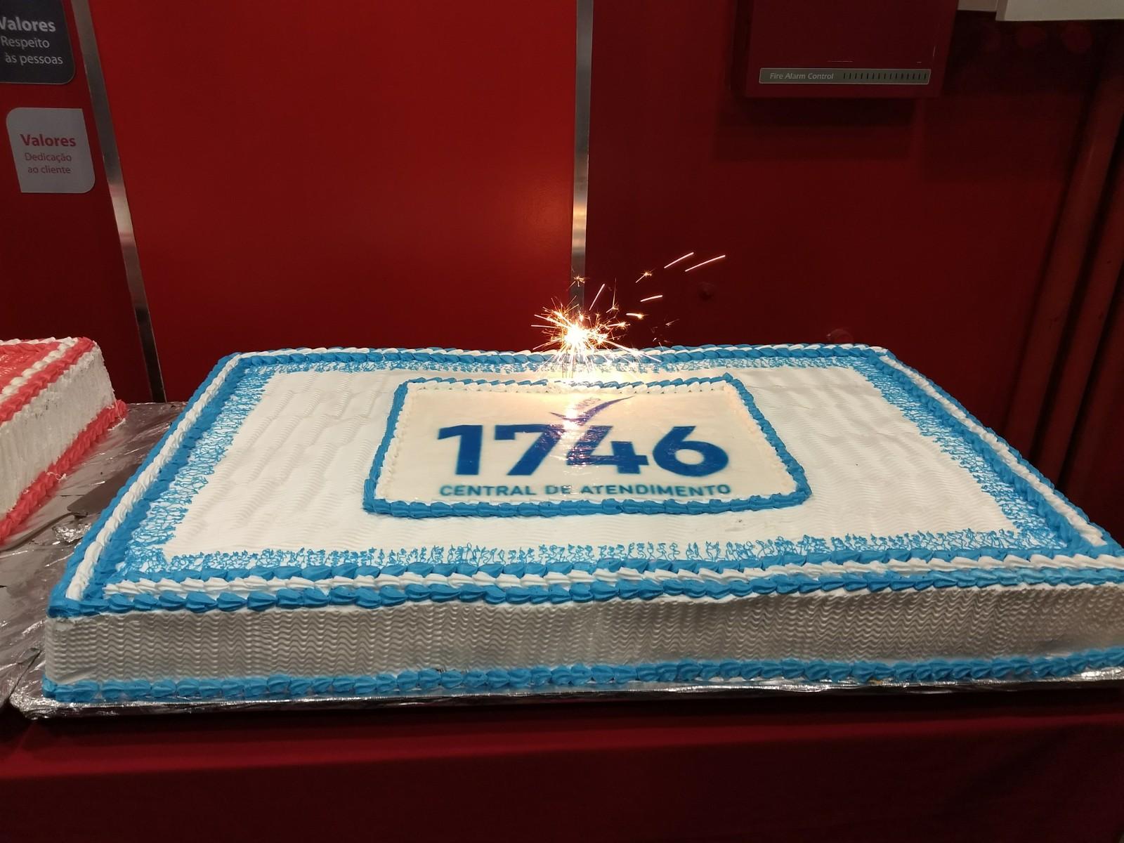 Central 1746 comemora sete anos de atendimento ao cidadão
