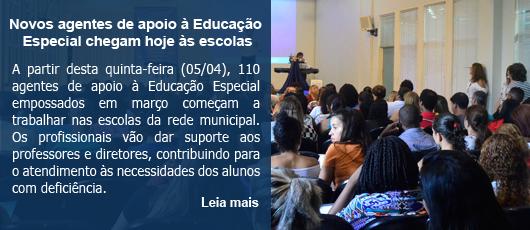 Novos agentes de apoio à Educação Especial chegam hoje às escolas