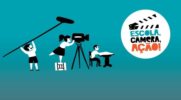 Formação audiovisual é destaque na nova temporada de Escola, câmera, ação!