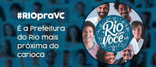 Siga o #RIOpraVC nas redes sociais!
