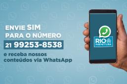 Saiba pelo WhatsApp tudo o que a Prefeitura do Rio está fazendo por você