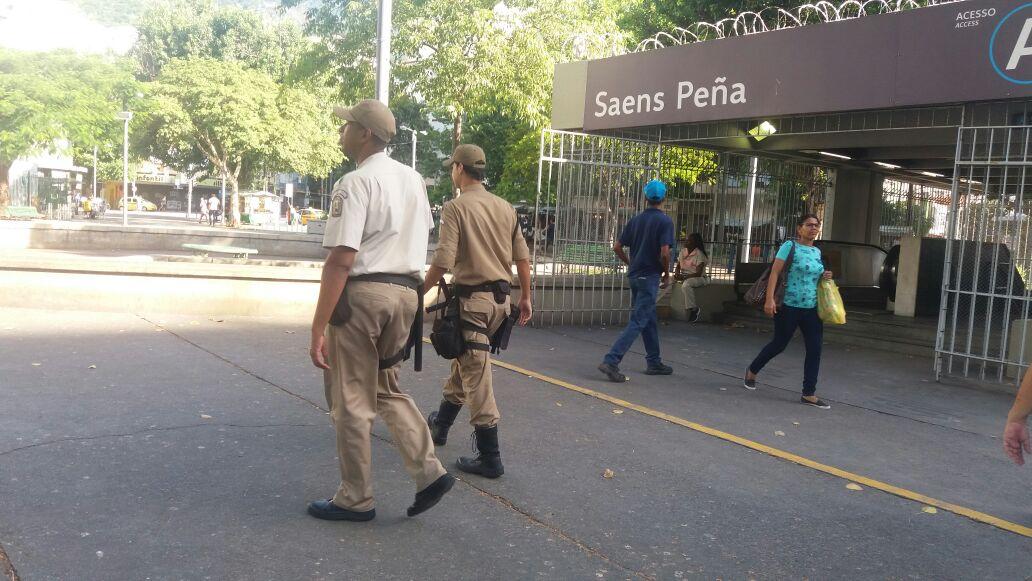 GM-Rio intensifica patrulhamento na cidade em apoio a intervenção federal