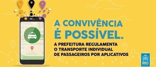 Parte do valor arrecadado será aplicado na melhoria do Taxi.Rio