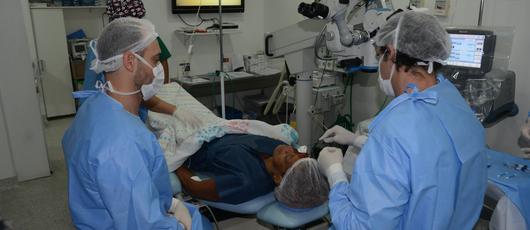 Prefeitura inicia mutirão de cirurgias de catarata