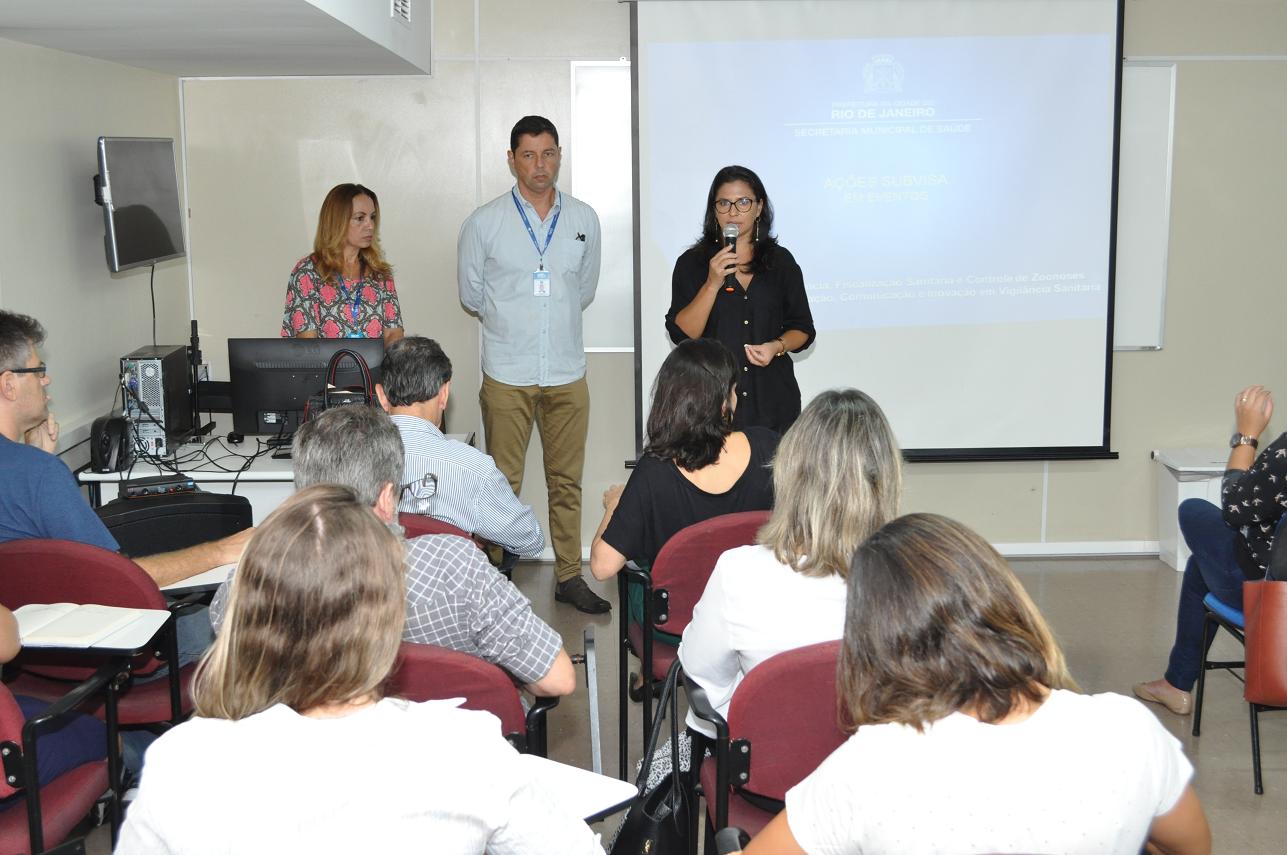Roteiro de inspeção e manual de eventos são apresentados a empresas organizadoras