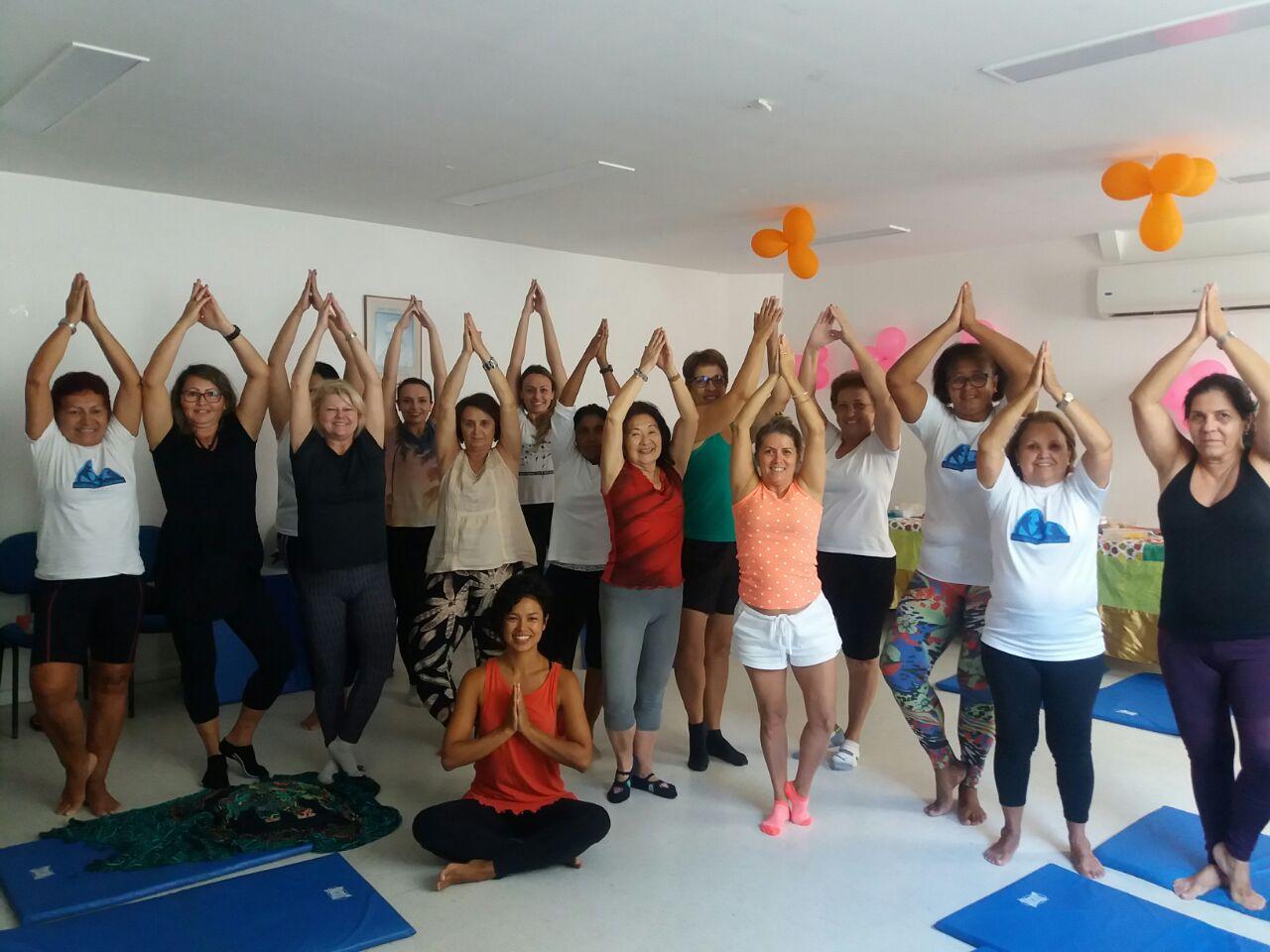 CMS de Botafogo promove aulas de yoga