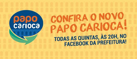 O Papo Carioca voltou com novos apresentadores e repleto de informação!