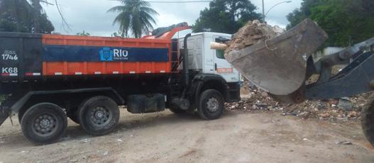 Comlurb Mais recolhe 700 toneladas de resíduos em Acari neste sábado