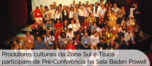 Pré-Conferência Zona Sul e Tijuca