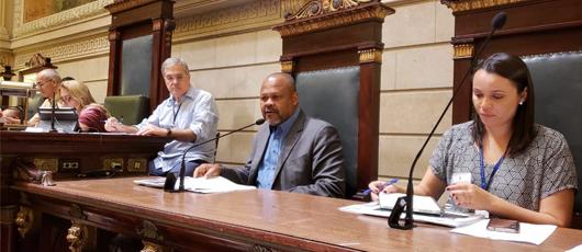 João Mendes apresenta na Câmara diretrizes orçamentárias da SMASDH