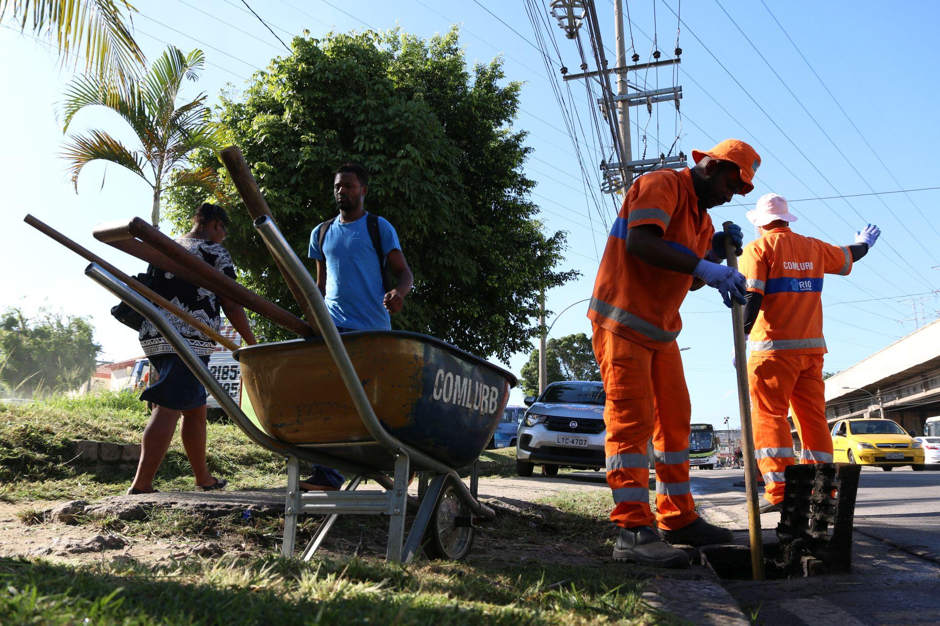 Comlurb Mais: mutirões de limpeza retornam à Zona Norte neste sábado