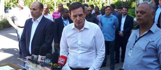 Crivella anuncia compromissos assumidos pelo Rio Ônibus e tarifa é fixada em R$ 3,95