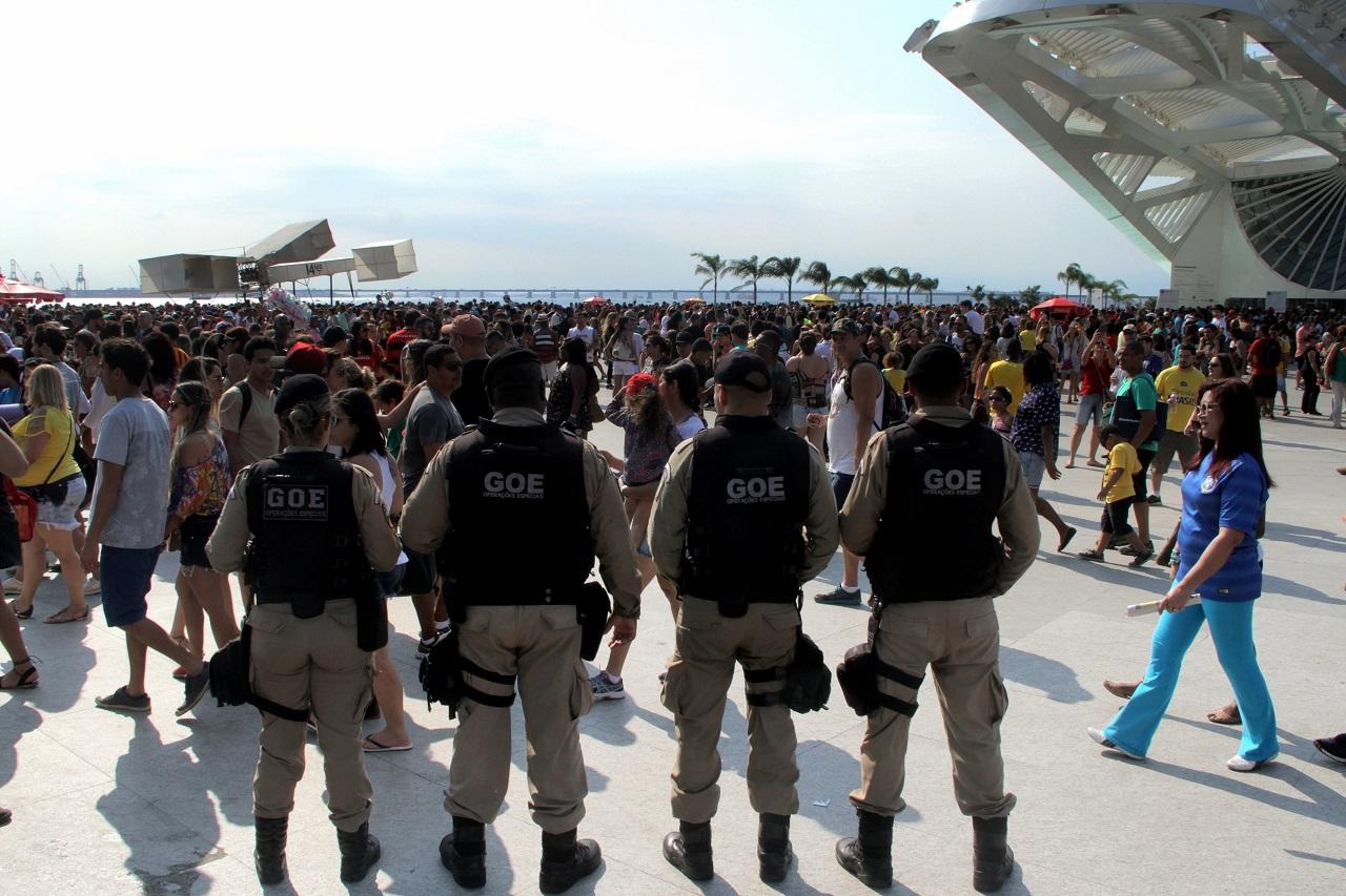 Copa 2018: Guarda Municipal monta operação especial em pontos de exibição de jogos na cidade