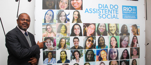 Assistentes sociais são homenageadas em evento da SMASDH