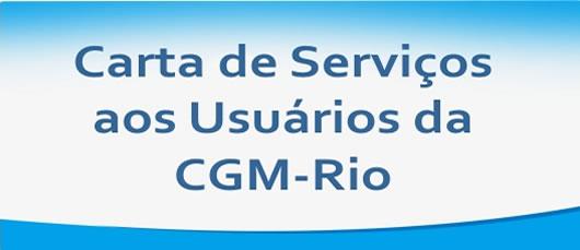 Carta de Serviços CGM-Rio