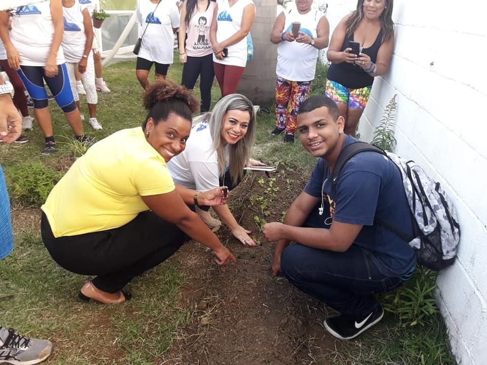 Saúde inaugura hortas em Santa Cruz e Nova Sepetiba