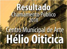 Centro de Arte Hélio Oiticica divulga lista de selecionados em chamamento público