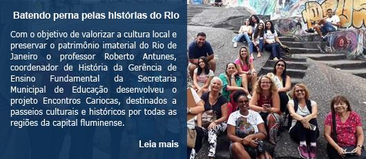 Batendo perna pelas histórias do Rio