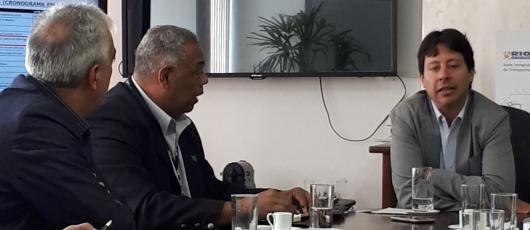 Diógenes Dantas e secretário estadual se reúnem para tratar sobre melhorias na bilhetagem eletrônica