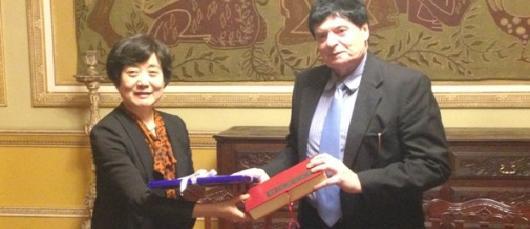 Prefeitura recebe a visita da delegação da Cidade de Shenyang