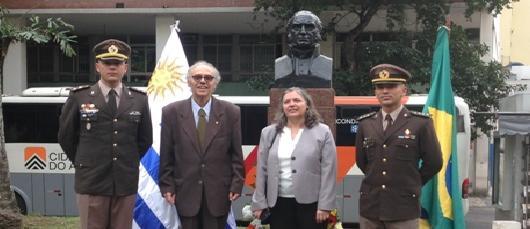 Homenagem ao General D. José Artigas em Botafogo